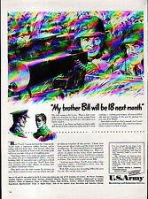 1942 U.S.ARMY RECRUITING AD- BUY WAR BONDS!!