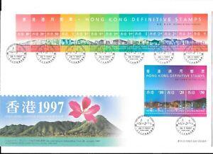 Hongkong  1997 Stamp FDC
