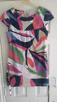 Womens Monsoon dress with belt Multicoloured 100% cotton
