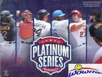 Platinum Series Baseball 1st Edition Factory Sealed Strategy Game with 30 Cards!