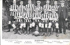Soccer / Football. Sunderland Team by Hulton & Co.
