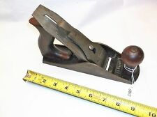 Plane, Vintage Shelton No. 9, Wood Workers Smooth Bench Plane & Storage Box, USA