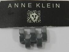 Anne Klein Grey Ceramic Watch Band End Link Replacement ,  AK/2200