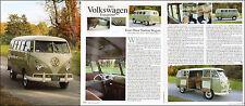 2006 photo article '61 Volkswagen Transporter Mini Bus 3pgs 9 pics 031116