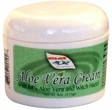 Vitamyr Aloe Vera Cream With 84% Aloe Vera & Witch Hazel NEW Natural Soothing