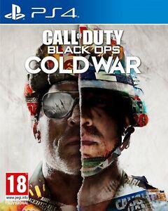 COD Call of Duty Black Ops Cold War PS4 PS5 Edición de España