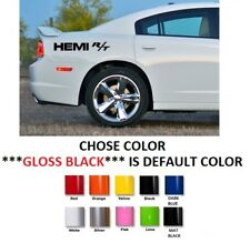 "Dodge Charger Challenger Hemi SRT HELLCAT HEMI DECALS STICKERS 13.5/"" #391"