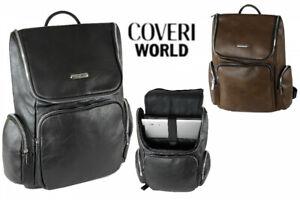 Zaino-Uomo-Donna-Grande COVERI WORLD Multitasche Ufficio Viaggio Porta PC