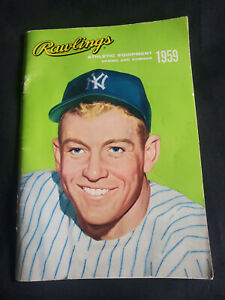 1959 Rawlings Athletic Equipment Spring and Summer Catalogue
