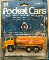Tomy Tomica Pocket Cars - Hino Shell Tanker
