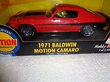 ERTL MUSCLE 1971 71 BALDWIN MOTION 427 CHEVY CAMARO RED BLACK HOBBY 1/2500 SS