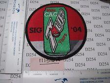 NAVY USN Squadron Patch COMBAT AIRCREW 7 CAC-7 2004 SIGONELLA