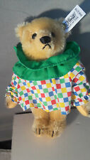 STEIFF  Circus Blonde Teddy Bear 7 inch mohair 0163/19 issued 1989