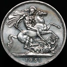 More details for 1951   george vi crown 'festival of britain'   cupro-nickel   coins   km coins