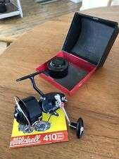 Mitchell 410 Spinning Reel C/W Spare Spool, Paperwork And Outer Box