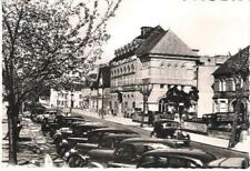 Solihull, W Midlands - Council House, old cars - real photo postcard c.1950s
