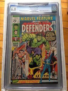 CGC 6.0 Marvel Feature #1 *Origin & 1st App of the Defenders*Netflix Show