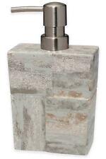 Rustic Quarry Lotion Pump Dispenser Ceramic Bottle Bath Decor Modern Bathroom