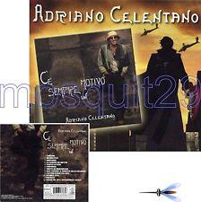 """ADRIANO CELENTANO """"C'E' SEMPRE"""" CD RARO CON SOVRACOPERT"""