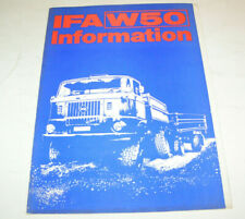 Sammelmappe (leer) DDR LKW - IFA W 50