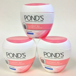 3 POND'S PONDS CLARANT B3 CREAM, NORMAL TO DRY SKIN 7oz / PIEL NORMAL A SECA