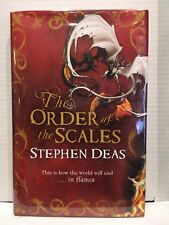 The Order of The Scales by Stephen Deas UK 1st Edition Hardback Signed Dated