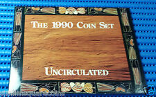 1990 Australia Uncirculated Coin Set ($2, $1, 50 Cent, 20, 10, 5, 2, 1 Cent)