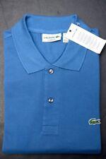 Lacoste L1212 Men PIQUÉ Classic Fit Officer Blue Cotton Polo Shirt New 2XL 7