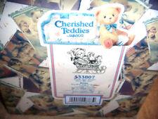 Cherished Teddies Brian #533807 Boy With Toys Sleigh W Box ~
