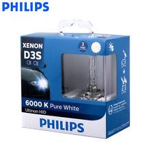 2X Philips D3S 35W 42403WX HID 6000K Xenon Pure White Lamp Auto Light, US Seller