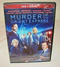 Murder on the Orient Express (DVD, Digital 2018) Read!!!