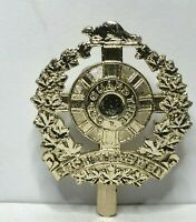 Canadian Legion Of Frontiersman cap badge staybrite J.R Gaunt