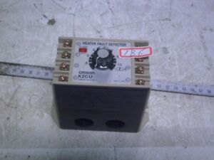 [Used] OMRON / K2CU-F-GS / HEATER FAULT DETECTOR, 110V