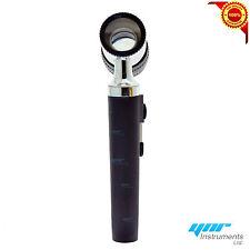 YNR England LED Fiber Optic Mini Dermatoscope Set German Version Dermatology
