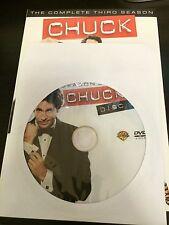 Chuck – Season 3, Disc 1 REPLACEMENT DISC (not full season)
