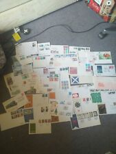 35 First Day Covers mostly England UK