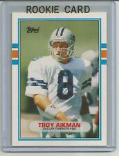 TROY AIKMAN 1989 TOPPS MINT RC ROOKIE CARD DALLAS COWBOYS