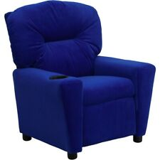 Flash Furniture Blue Kids Recliner, Blue - BT-7950-KID-MIC-BLUE-GG
