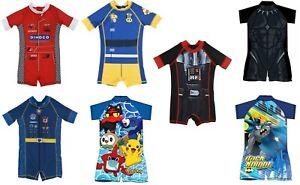 Boys Kids Surfsuit Swim Swimsuit Swimming Costume Sizes 1 to 6 Beach Summer UV