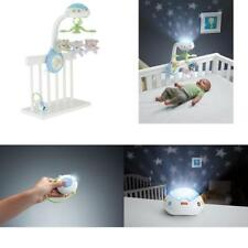 Fisher Price Baby Mobile Cot Butterfly Music Lights Dreams Projection Nursery