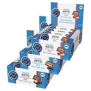 Aussie Bodies Keto Wafer Bars 12 x 35g Choose Your Flavour Keto Diet Certified