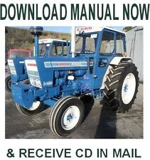 1965-1975 Ford 2000 - 7000 Tractor factory Ford repair service manual on Cd