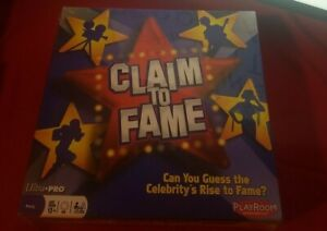 Claim To Fame Board Game Party Edition Ultra Pro Playroom Entertainment NEW NWT