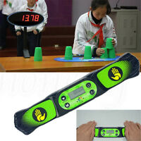 Digital Speed Cube Match Clock Stacking Cup Competition Machine Timer
