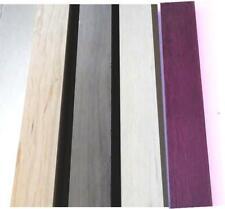 4 Purpleheart 6 Walnut 6 Maple 6 CHERRY 3/4
