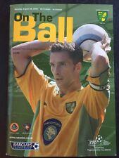 "Arsenal ""49 Unbeaten"" Away V Norwich 28/08/2004 Game 44"