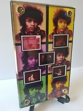 Jimi Hendrix  Documentary Film Frame Display with zipper pouch