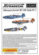 Xtra Decals 1/32 MESSERSCHMITT Bf-109 Stab Part 1