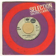 Bob Dylan Vinyl 45 Tours CBS spécial promotion DP 2307 Rainy Day Woman Pledging