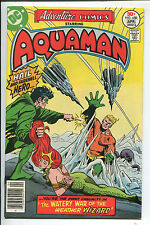 Adventure Comics #450 - The Watery War of the Weather Wizard! - 1977 (Grade 9.2)